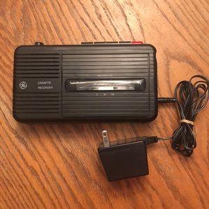 GE Cassette Recorder
